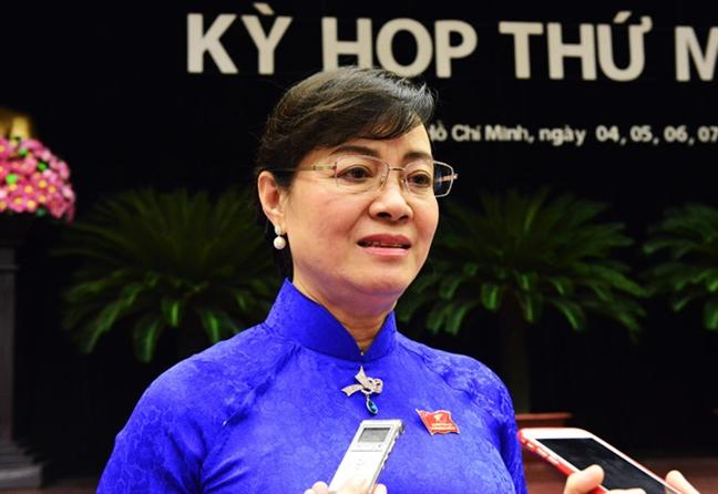 Chu tich HDND Nguyen Thi Quyet Tam: Dai bieu khach quan voi la phieu cua minh