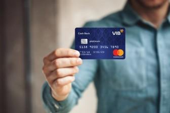 Dùng thẻ tín dụng VIB được hoàn tiền đến 3 triệu đồng