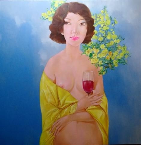 Ngắm đường cong người phụ nữ qua những bức tranh nude