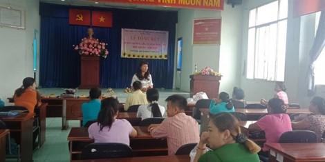 Huyện Nhà Bè: Tổng kết khóa đào tạo nghề cho hội viên phụ nữ