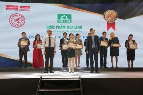 Dạ Hương 10 năm liên tiếp đạt giải thưởng Sản phẩm được Tin & Dùng số 1 trong dòng sản phẩm vệ sinh phụ nữ (2008-2018)