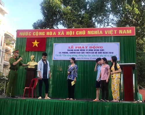Quan 6: Phat dong Thang hanh dong binh dang gioi 2018