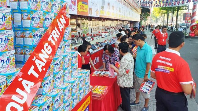 Nguyen Kim sale khung dot cuoi nam cac san pham dien may gia dung