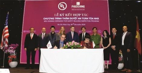UL và Phúc Khang chính thức ký kết hợp tác chương trình thẩm duyệt an toàn tòa nhà