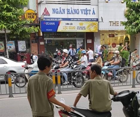 Tập trung truy bắt các đối tượng vụ cướp ở phòng giao dịch VietABank