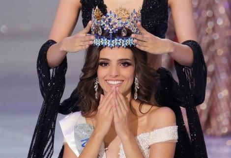 Cận cảnh nhan sắc quyến rũ của Hoa hậu Thế giới 2018