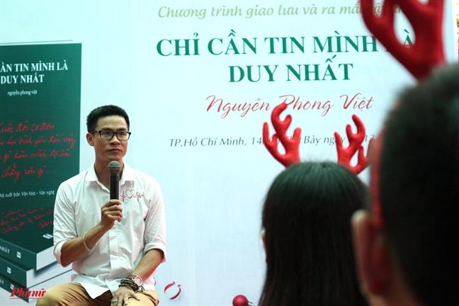 Nha tho Nguyen Phong Viet: 'Tho toi da bot nang ne'
