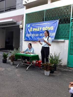 Quan Binh Thanh: Tiep tuc day manh mo hinh 'Hem xanh- Khu pho them xanh'