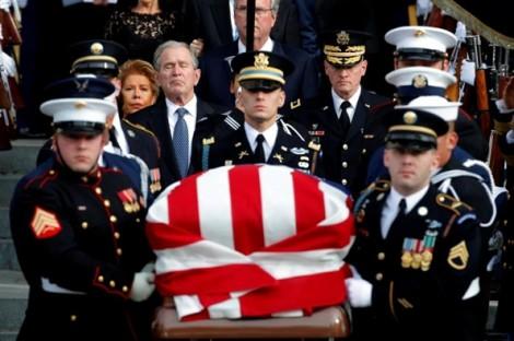 Đám tang cựu Tổng thống George H.W. Bush đứng đầu top ảnh nổi bật tuần