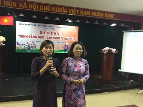 Quận Tân Phú: Tổ chức diễn đàn bình đẳng giới