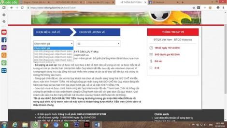 Chen lấn, vượt rào mua vé AFF cup