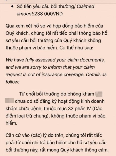 Cố tình 'làm khó' khách hàng để 'quỵt' tiền bảo hiểm