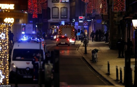 Xả súng đẫm máu ở chợ Giáng sinh Pháp, 4 người thiệt mạng