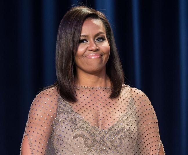 Ung xu chan that, bao sao ba Michelle Obama duoc nguoi My yeu quy