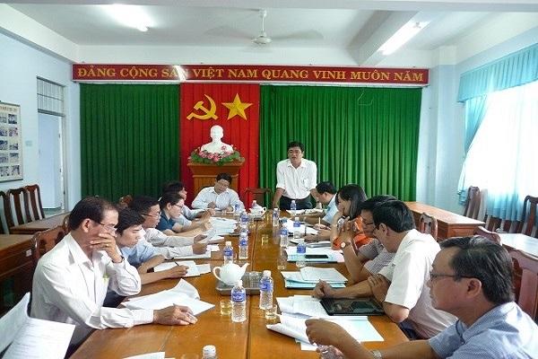 Ong Duong Hien Hai Dang giu chuc Chu tich UBND TP.Tra Vinh thay ong Diep Van Thanh bi ky luat