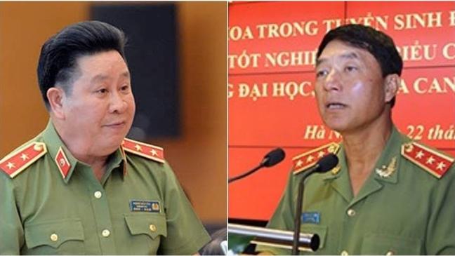Khoi to cuu Thu truong Bo cong an Bui Van Thanh va Tran Viet Tan