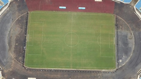 'Chảo lửa' Mỹ Đình trước trận chung kết AFF Cup nhìn từ trên cao