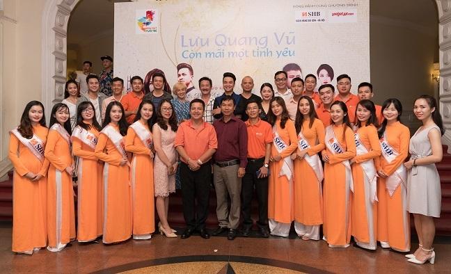 NSND Le Khanh dien kich Luu Quang Vu tai TP.HCM