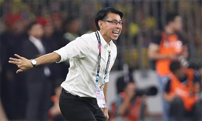HLV Park Hang Seo va HLV Malaysia noi gi khi Viet Nam vo dich AFF Cup 2018?