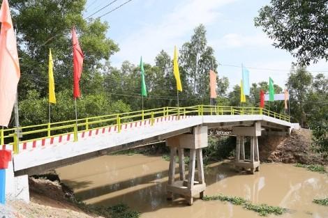 Khánh thành 17 công trình cầu nông thôn tại Long An
