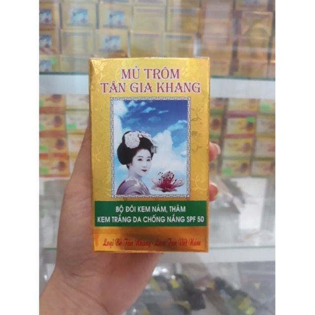 Thu hoi kem Mu Trom 'trang da tri nam' khong dam bao chat luong