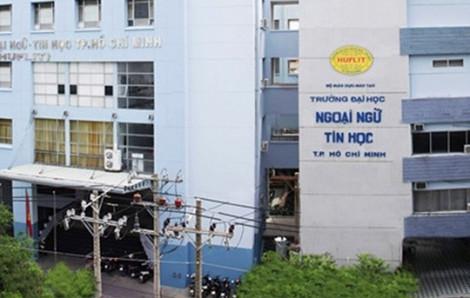 UBND TP.HCM đề nghị HUFLIT cung cấp văn bản không công nhận bằng tiến sĩ của ông Trần Quang Nam