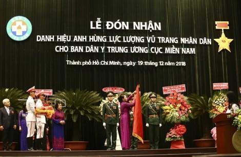 Ban Dân y Trung ương cục miền Nam nhận danh hiệu Anh hùng