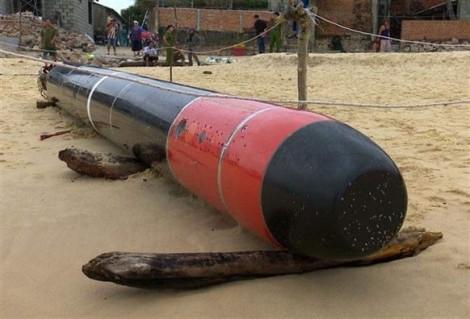 Ngư lôi ở Phú Yên có tên gọi 'Cá mập đen', tầm bắn khoảng 27 hải lý?