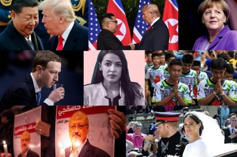 10 sự kiện nổi bật nhất thế giới năm 2018