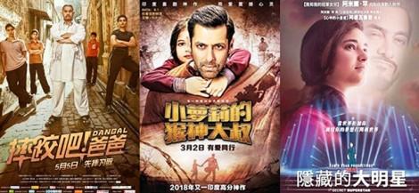 Bollywood hất cẳng Hollywood tại thị trường Trung Quốc