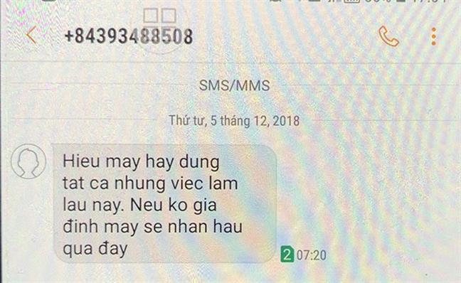 Pho bi thu huyen o Quang Ngai bi nhan tin de doa