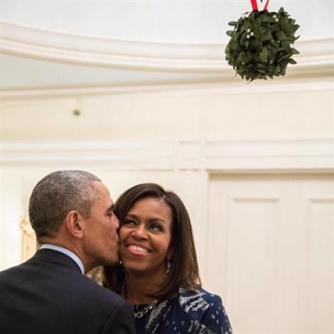 Thiệp Giáng sinh ngọt ngào của cựu Tổng thống Obama