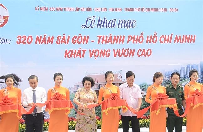 Trien lam 320 nam Sai Gon - TP.HCM khat vong vuon cao