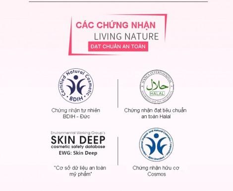 Living Nature - Mỹ phẩm hữu cơ tốt hàng đầu thế giới đã có mặt tại Việt Nam