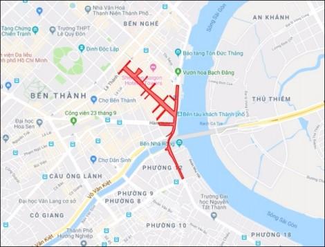 Đi đường nào để vào trung tâm thành phố xem pháo hoa đón năm mới 2019?