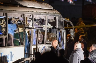 Đánh bom tại Ai Cập và thảm họa sóng thần Indonesia lọt top ảnh trong tuần