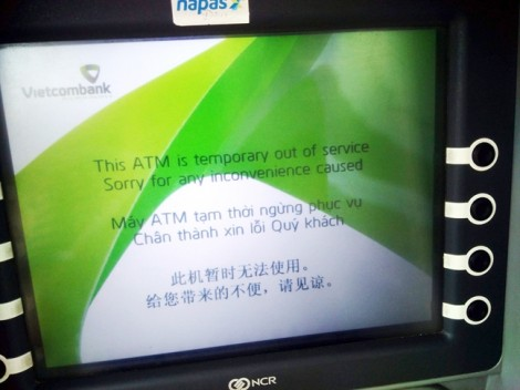 Chưa đến tết, máy ATM đã 'làm biếng nhả tiền'