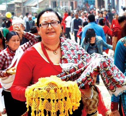 Song cham o Nepal