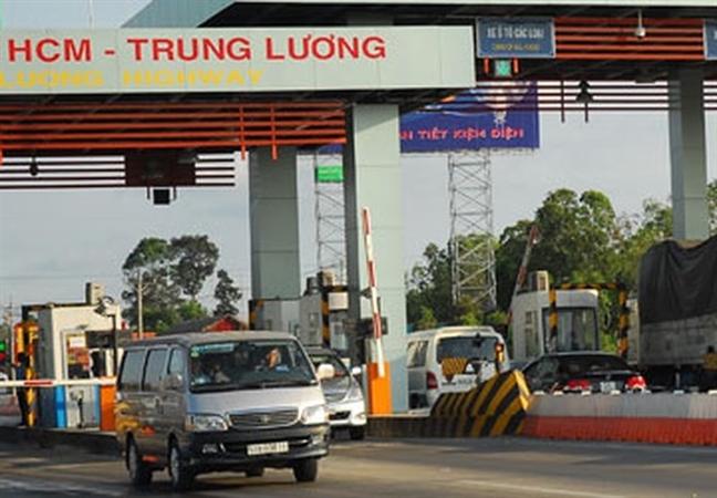 Ngung thu phi cao toc TP.HCM - Trung Luong tu 1/1/2019