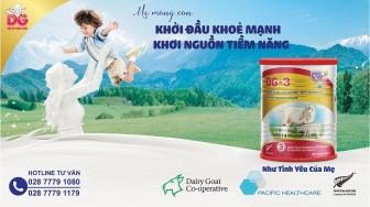 DG – Thương hiệu sữa dê công thức nhập khẩu nguyên lon, chính ngạch tại thị trường Việt Nam