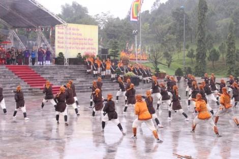 Tái hiện lễ lên ngôi của Hoàng đế Quang Trung tại núi Bân