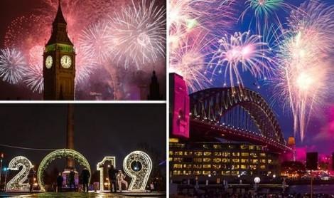 Thế giới chuẩn bị đón năm mới 2019