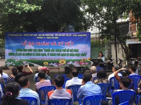Quận Tân Bình: Đồng loạt ra quân bảo vệ môi trường