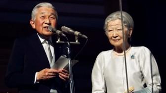 Lời chúc năm mới của Nhật Hoàng khiến người dân rớt nước mắt
