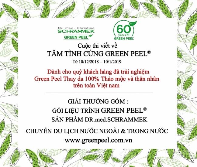 Mung sinh nhat GREEN PEEL® lan thu 60