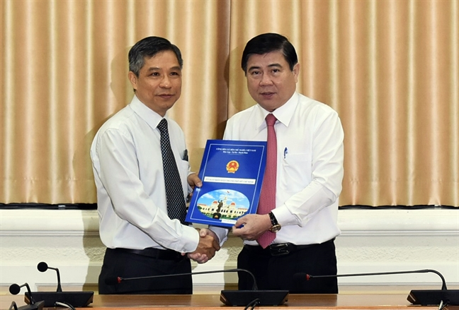Bo nhiem ong Bui Xuan Cuong lam Truong ban quan ly duong sat do thi TP.HCM