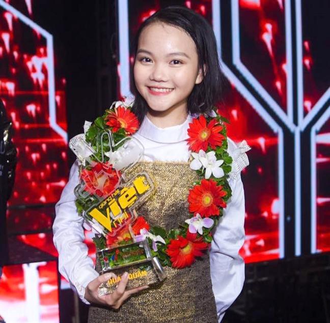 Giac mo hat cho nguoi ngheo cua Quan quan 'Giong hat Viet nhi 2018'