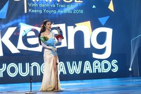 Bích Phương, Vũ Cát Tường thắng đậm tại 'Keeng Young Awards 2018'