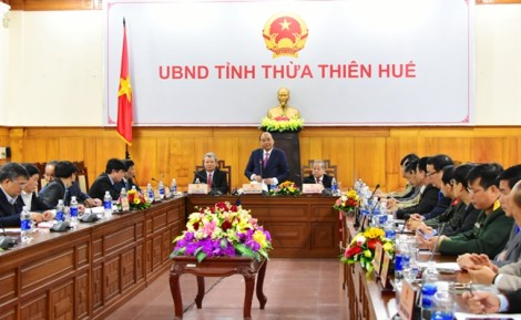 Chính phủ cam kết tiếp tục hỗ trợ nguồn lực, cơ chế để Huế phát triển