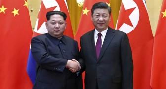 Lãnh đạo Triều Tiên Kim Jong Un bất ngờ đến Bắc Kinh